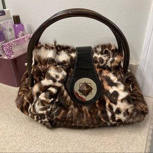 Kate Spade Collect Faux Fur Handbag *